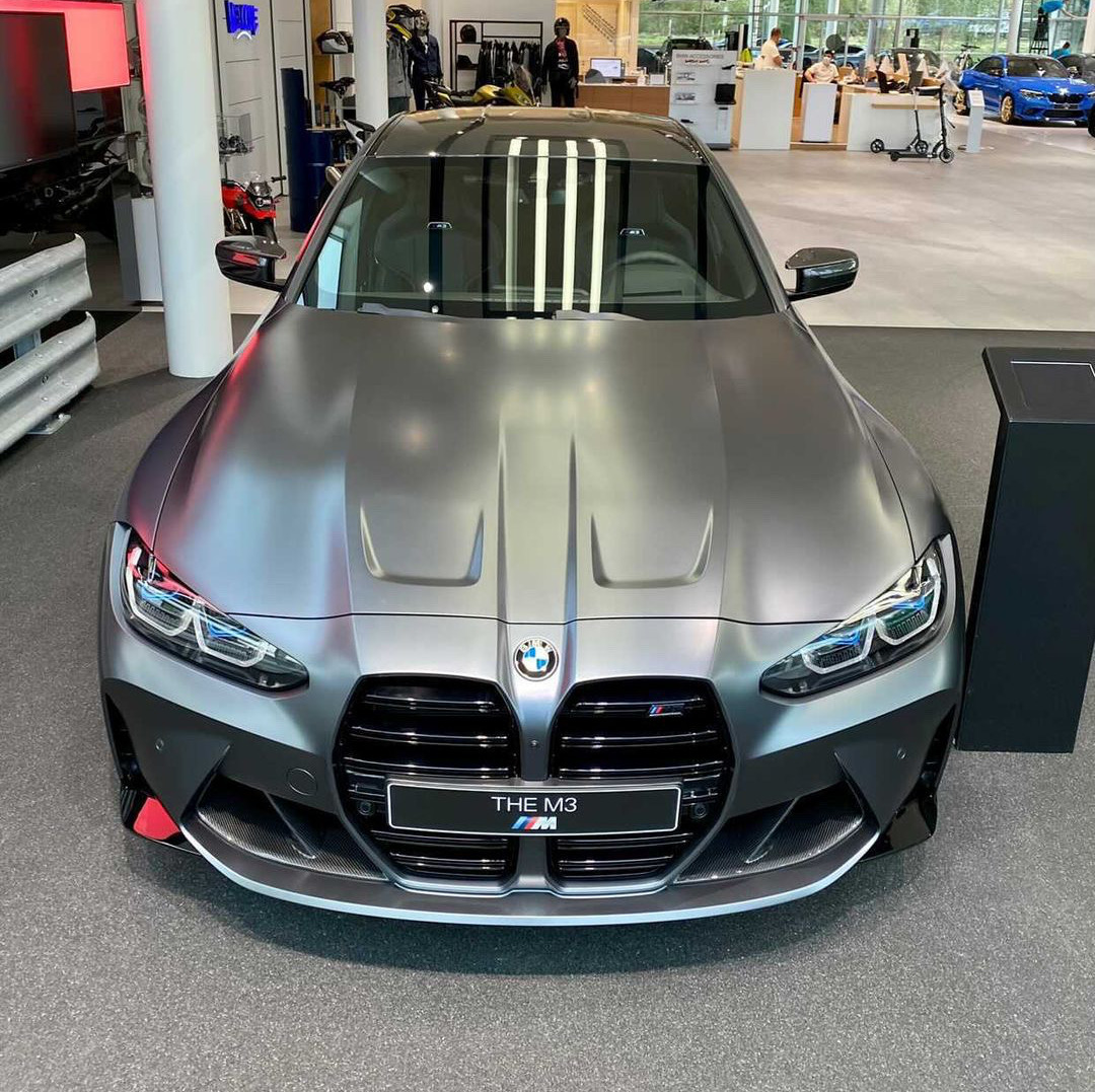 2021 BMW M3 G80 Frozen Dark Grey 2