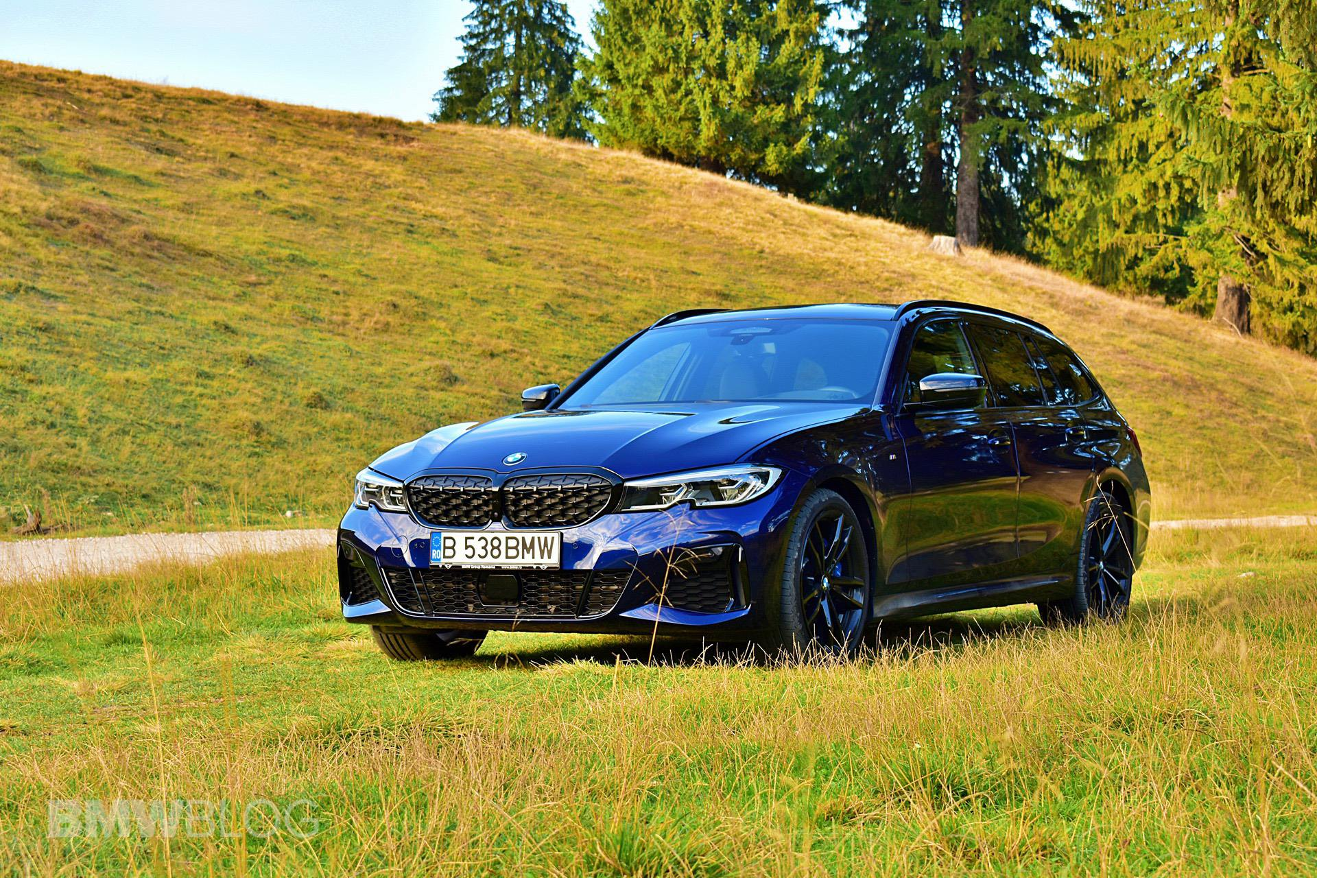 2021 bmw 340d touring g21 test drive 10