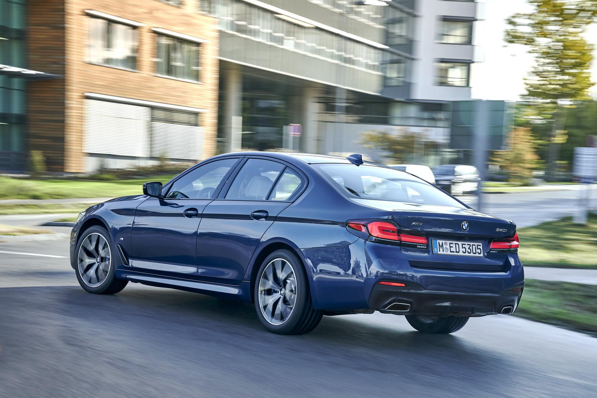 2021 BMW 540i xDrive Sedan Facelift - New Photo Gallery