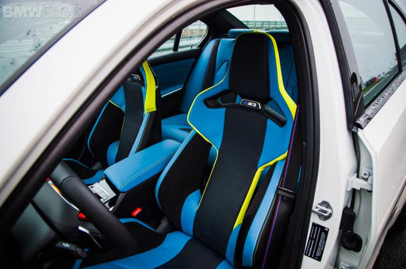 2021 BMW M3 Compétition Blanc 7 830x550