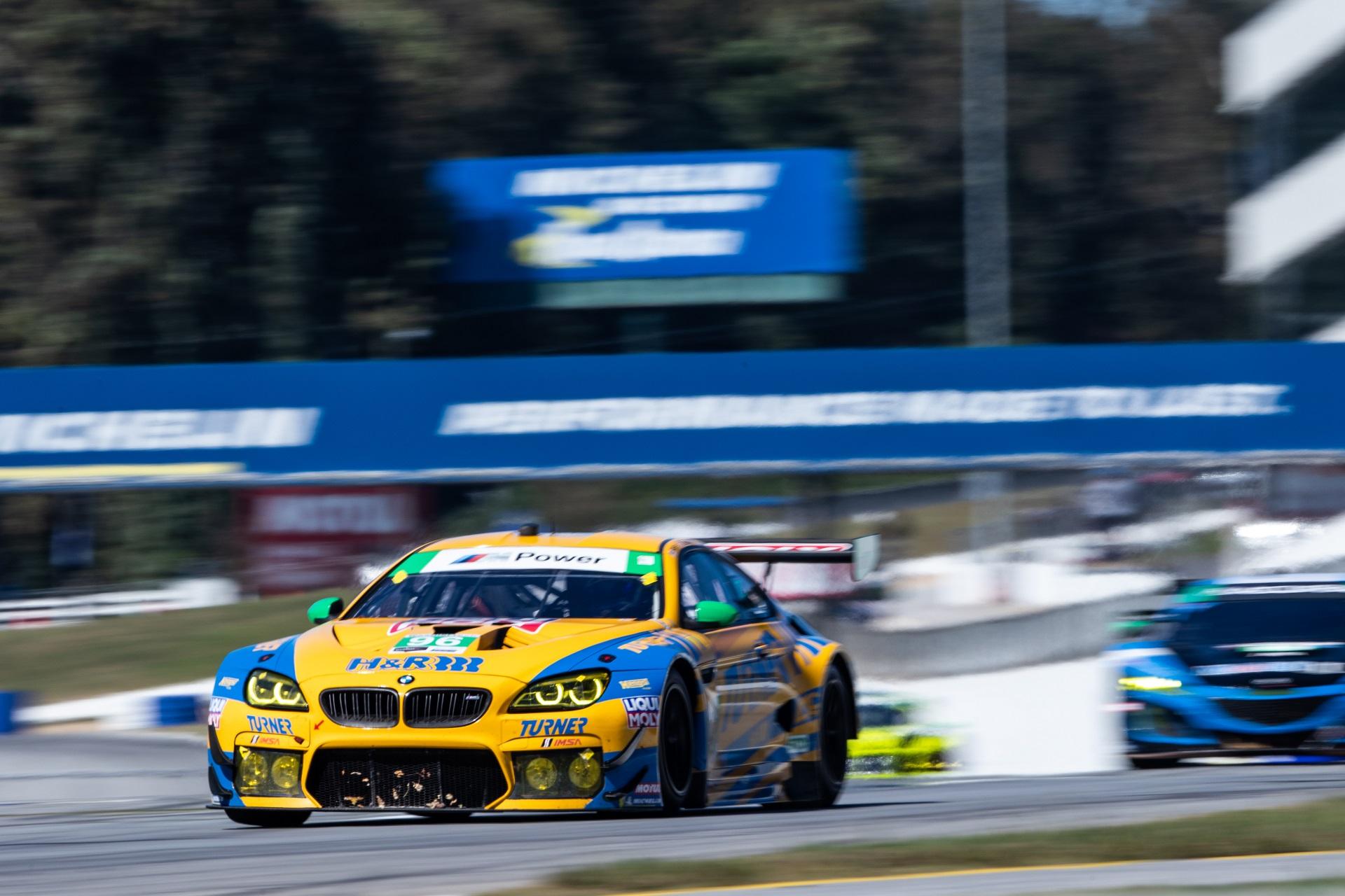 BMW Team RLL claims 6th consecutive podium finish at Petit Le Mans
