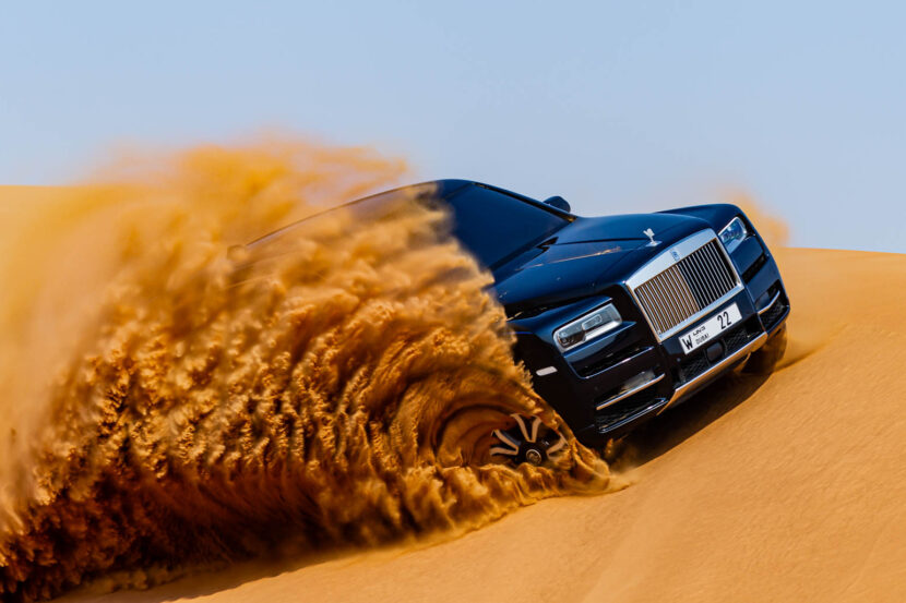 Rolls Royce Cullinan Desert 6 830x553