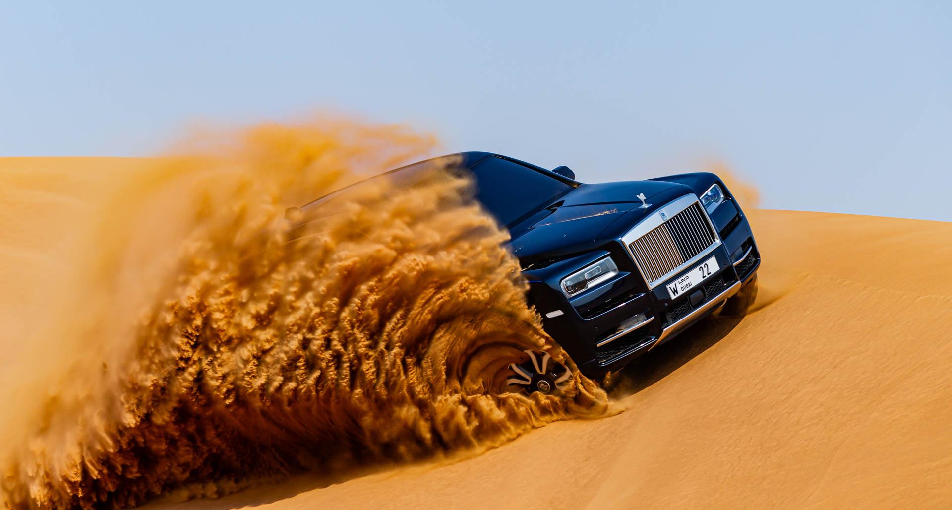 Rolls Royce Cullinan Desert 6