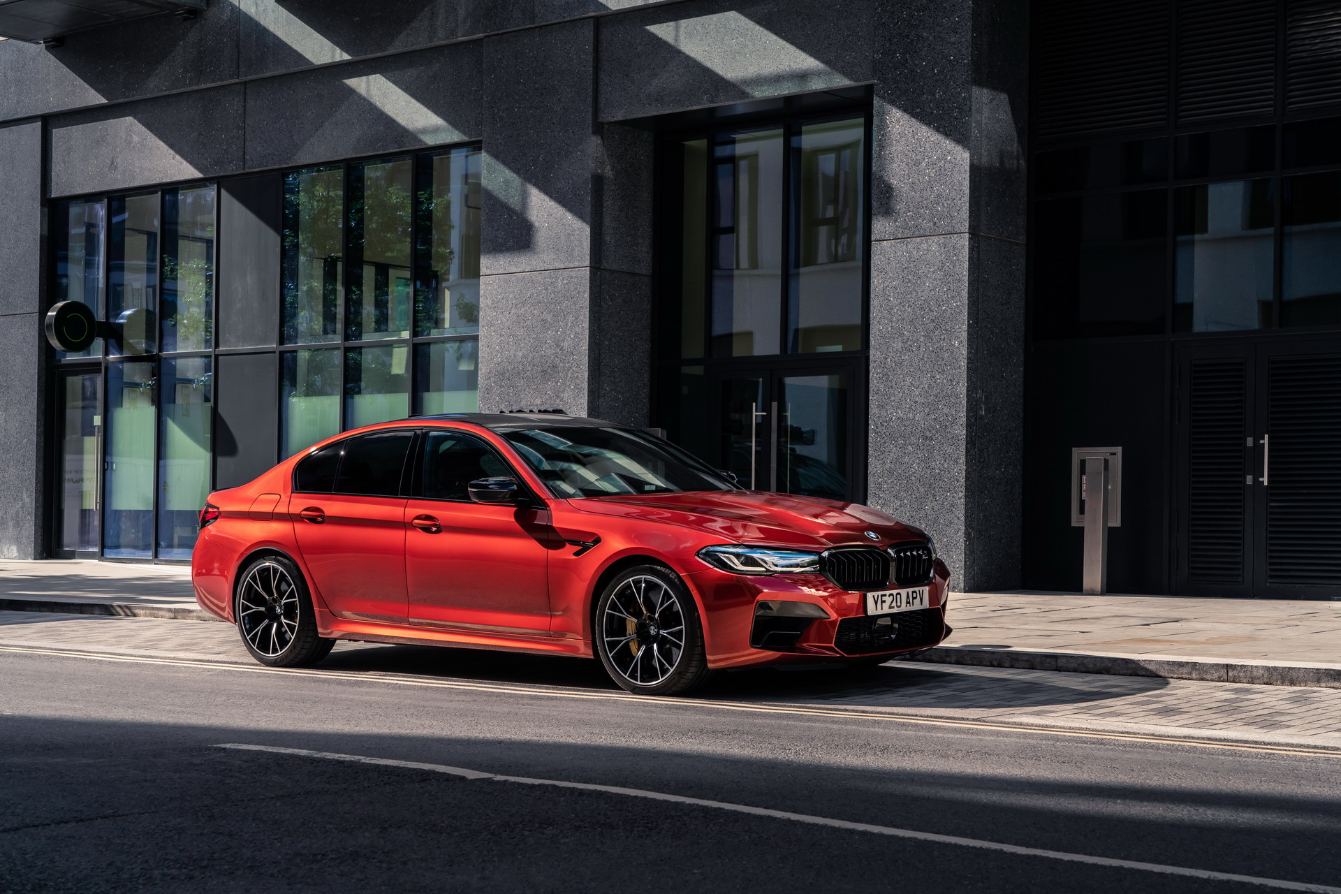 The New BMW M5 Competition UK 11