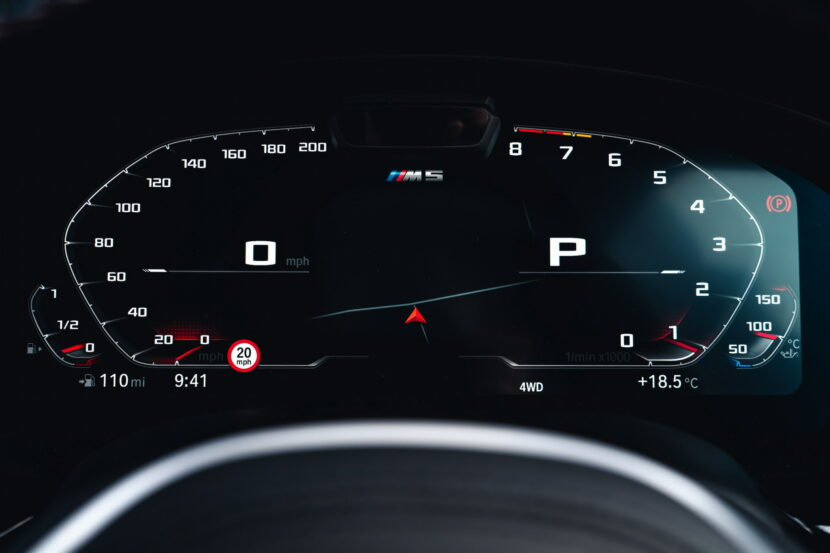 The New BMW M5 Competition UK 27 830x553