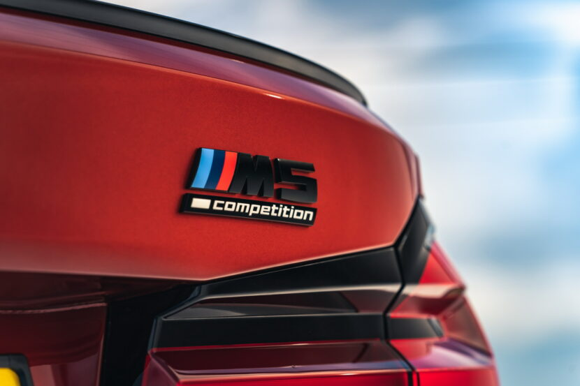 The New BMW M5 Competition UK 29 830x553