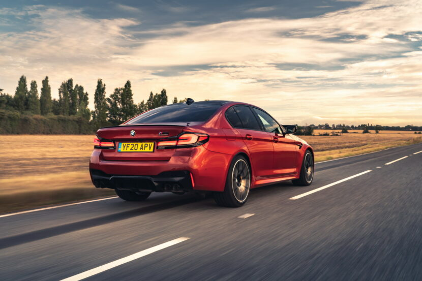 The New BMW M5 Competition UK 34 830x553