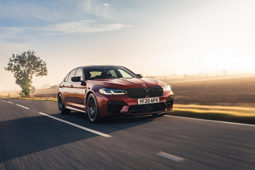 The New BMW M5 Competition UK 44 830x553