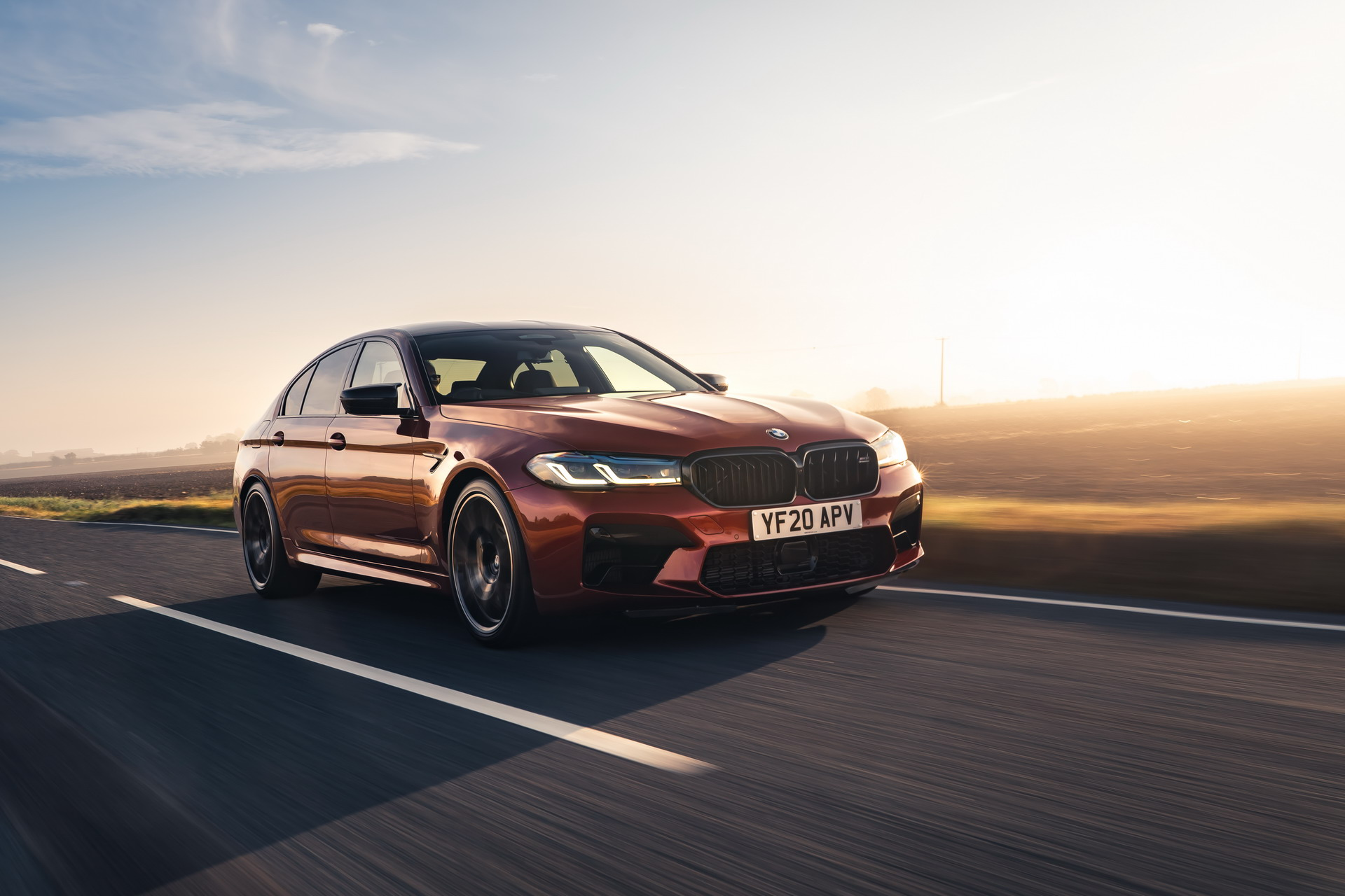 The New BMW M5 Competition UK 45
