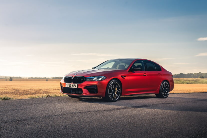 The New BMW M5 Competition UK 6 830x553