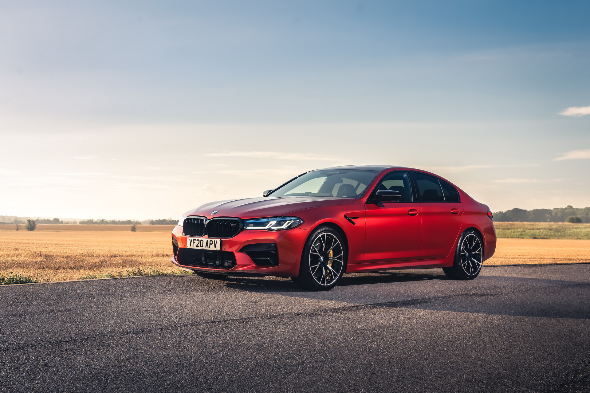 The New BMW M5 Competition UK 6