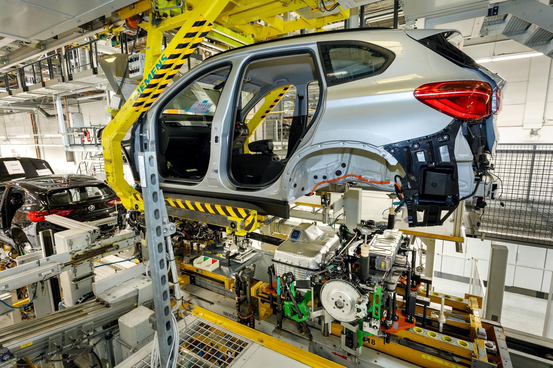 BMW Plant Regensburg to produce electric drive components ...