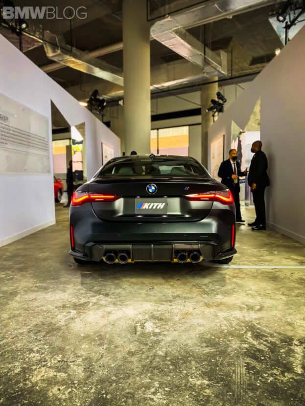 2021 (G82) BMW M4 by Kith – Real Life Photos/Videos of the Frozen Black Color