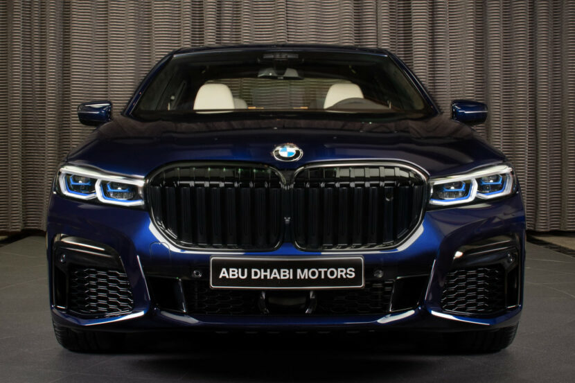 2020 BMW M760Li Tanzanite Blue 13 830x553