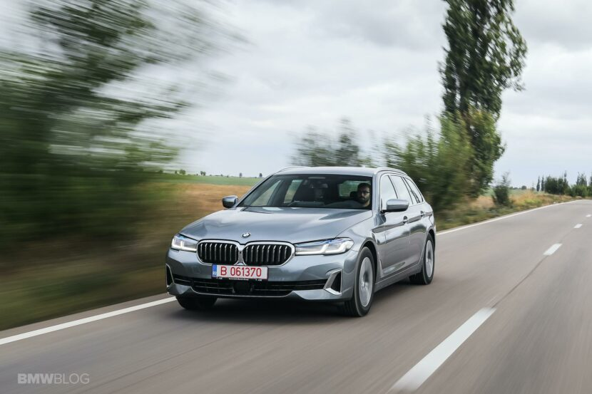 2020 bmw 520d touring test drive 04 830x553