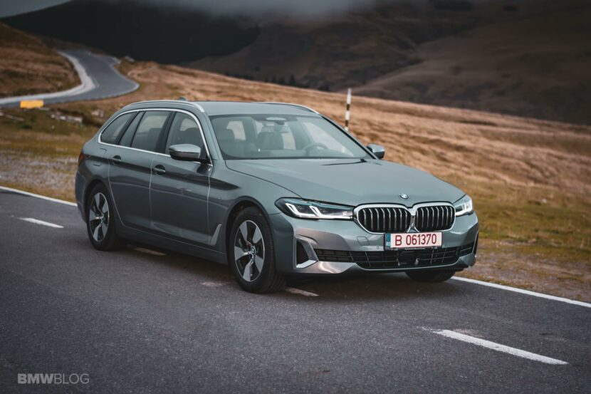 2020 bmw 520d touring test drive 54 830x553