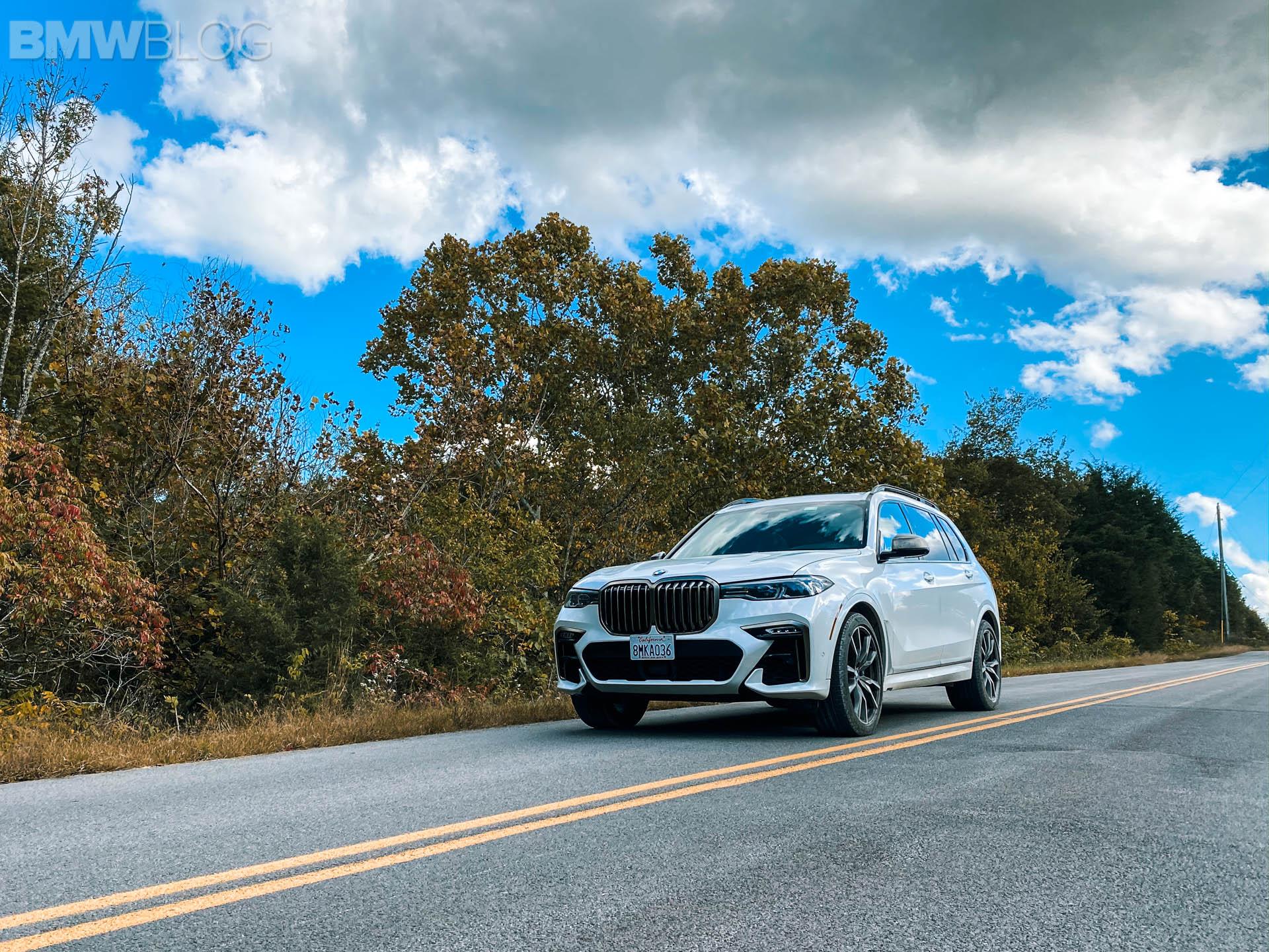 2020 bmw x7 m50i test drive 73
