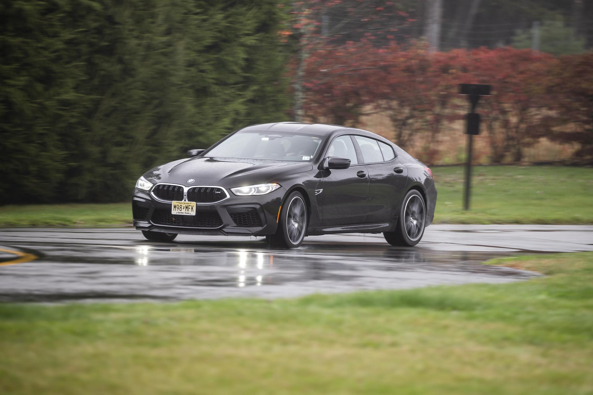 2020 BMW M8 Gran Coupe Almandine Brown II Metallic  05