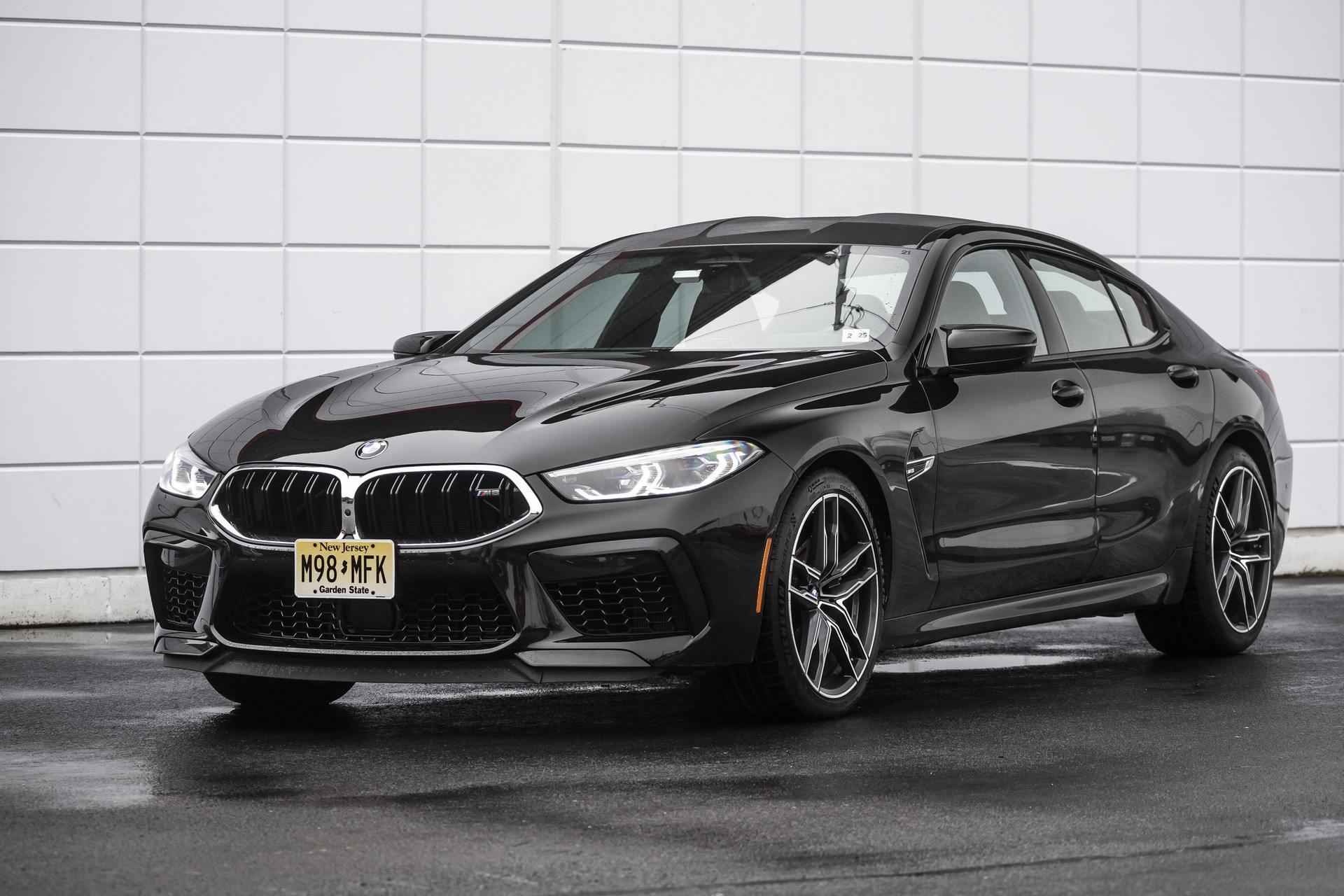2020 BMW M8 Gran Coupe Almandine Brown II Metallic  12