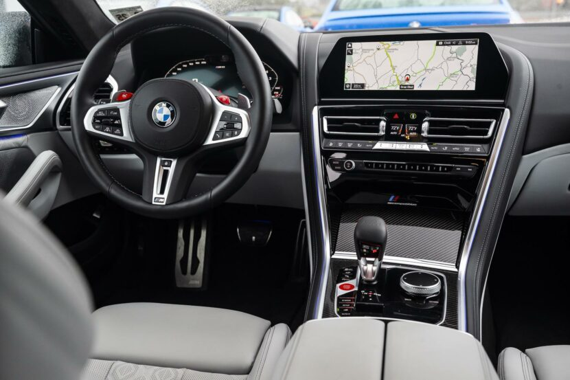 2020 BMW M8 Gran Coupe silverstone merino leather 08 830x553