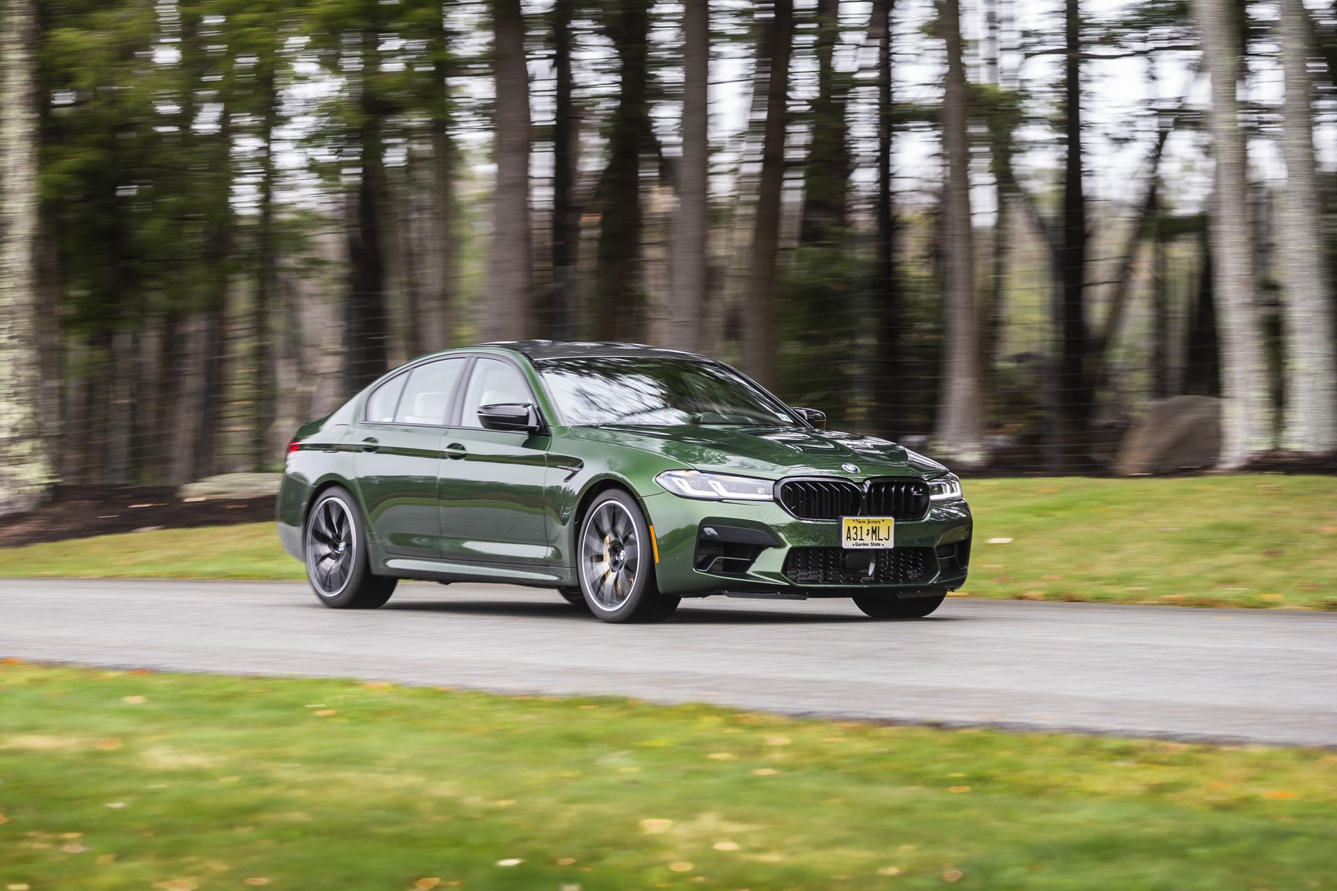 2021 Bmw M5 Facelift Gets The Verde Ermes Color From Bmw Individual