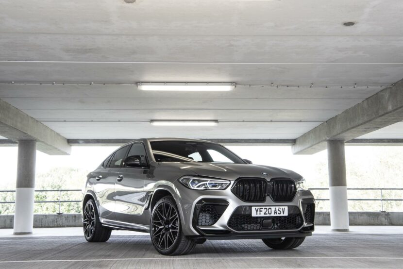 2021 bmw x6m Donington Grey metallic 11 830x554