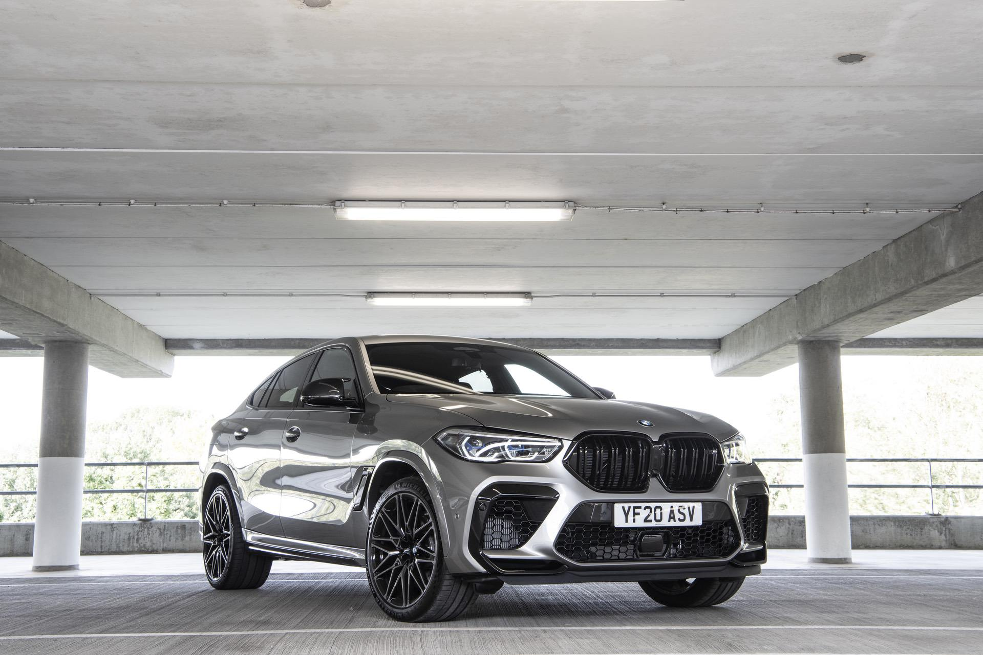2021 bmw x6m Donington Grey metallic 11