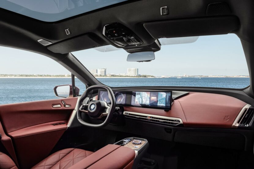2022 bmw ix interior 19 830x553