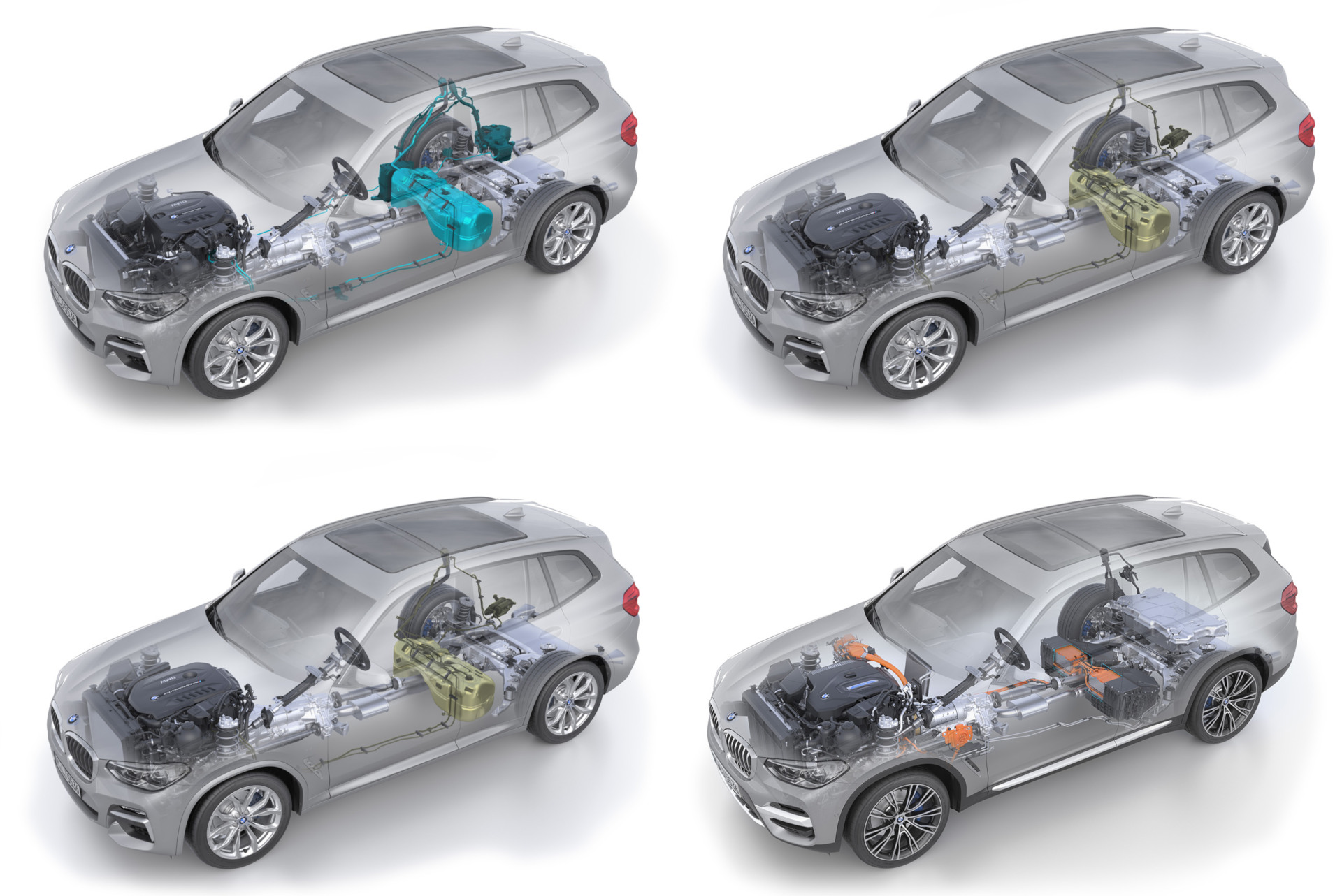 BMW Cluster architecture 2025 CLAR