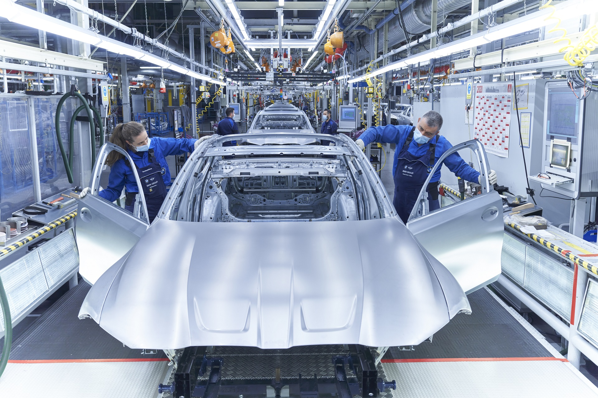 BMW G80 M3 Production 1