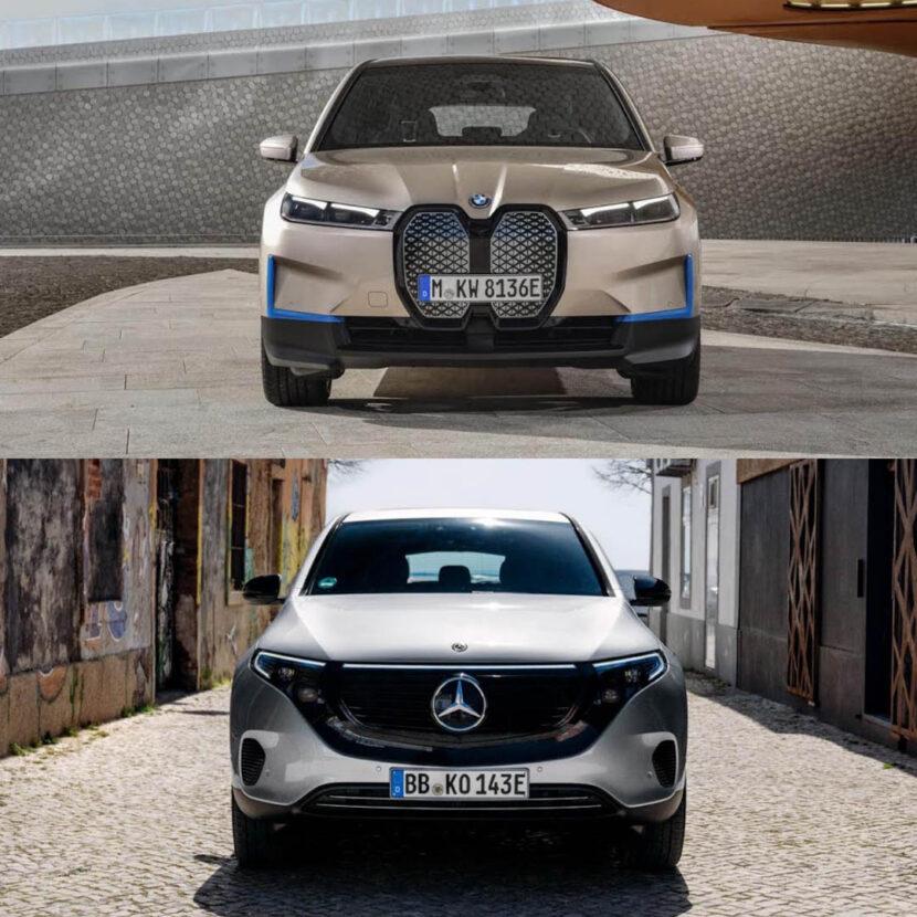 BMW X vs Mercedes Benz EQC 3 830x830