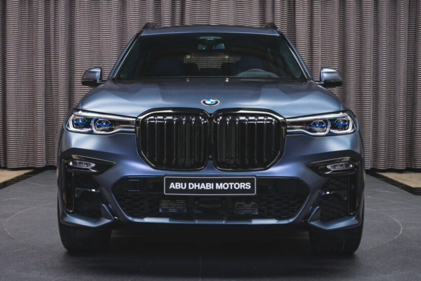 BMW X7 Dark Shadow Edition Frozen Arctic Grey G07 M Sport Abu Dhabi 02 830x553