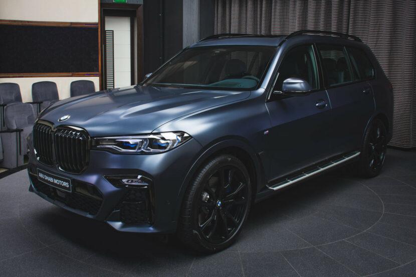 BMW X7 Dark Shadow Edition Frozen Arctic Grey G07 M Sport Abu Dhabi 03 830x552