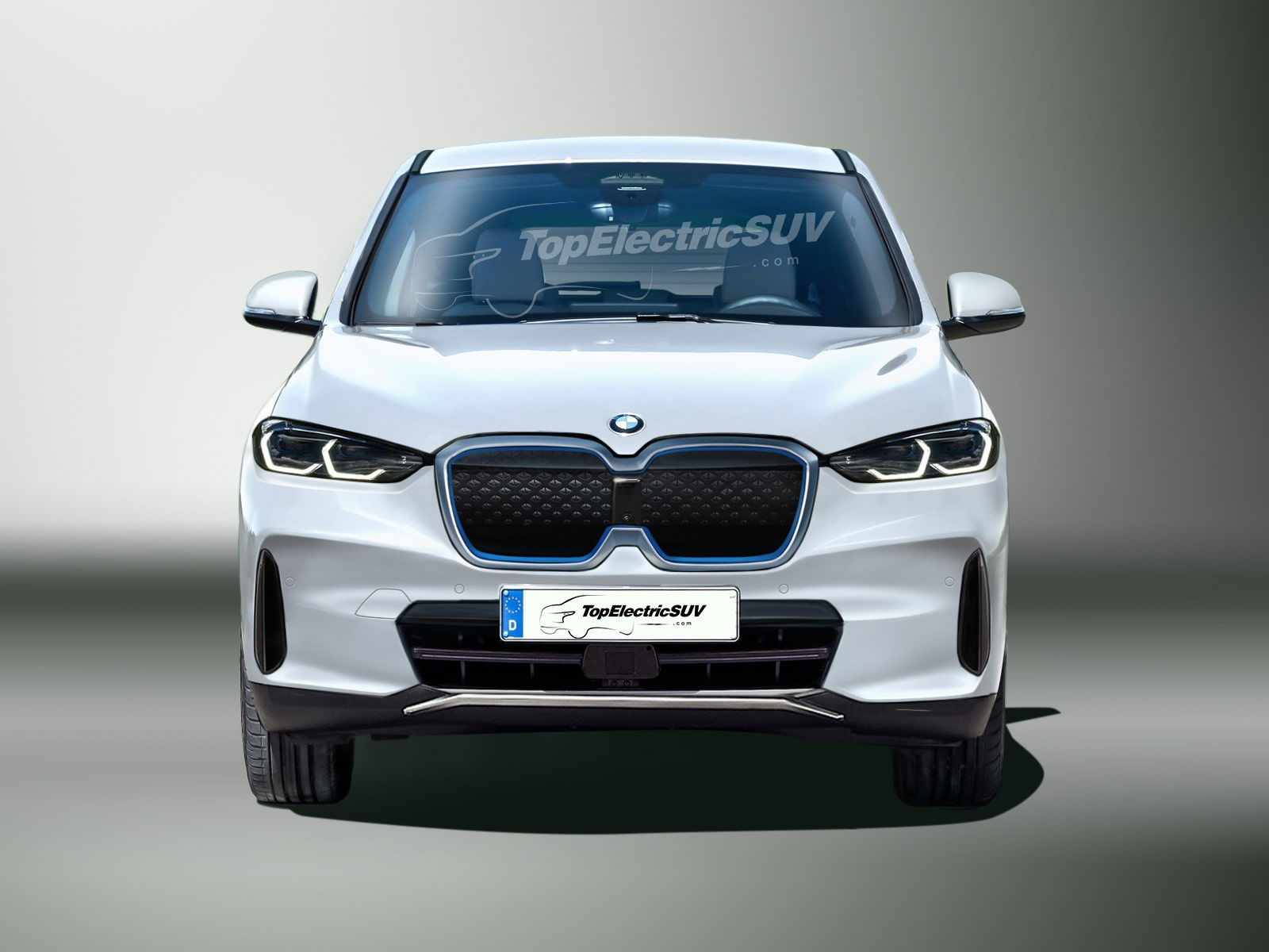 BMW iX1 Render