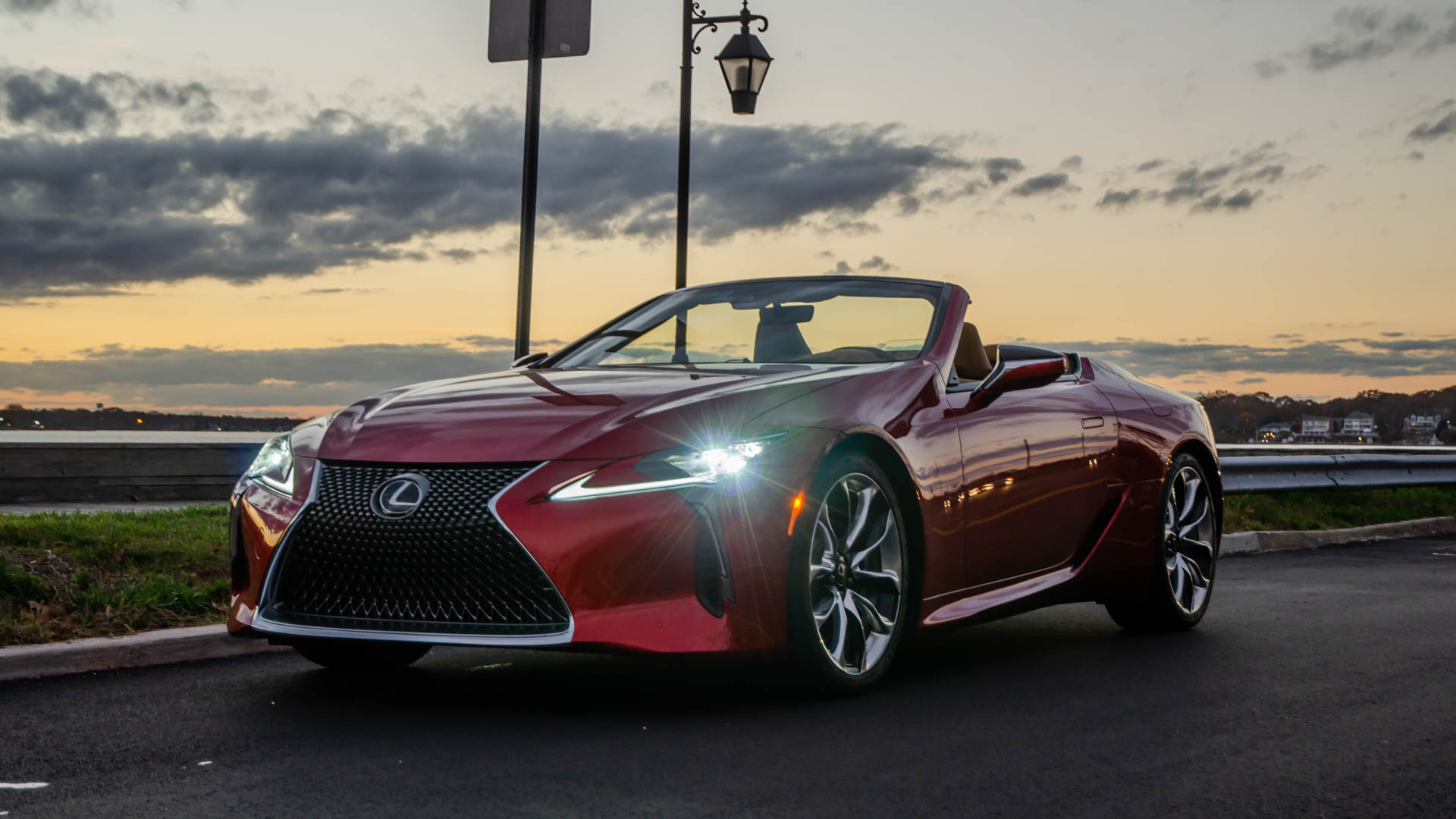 TEST DRIVE: Lexus LC500 Convertible -- Subtract Roof and Add Noise