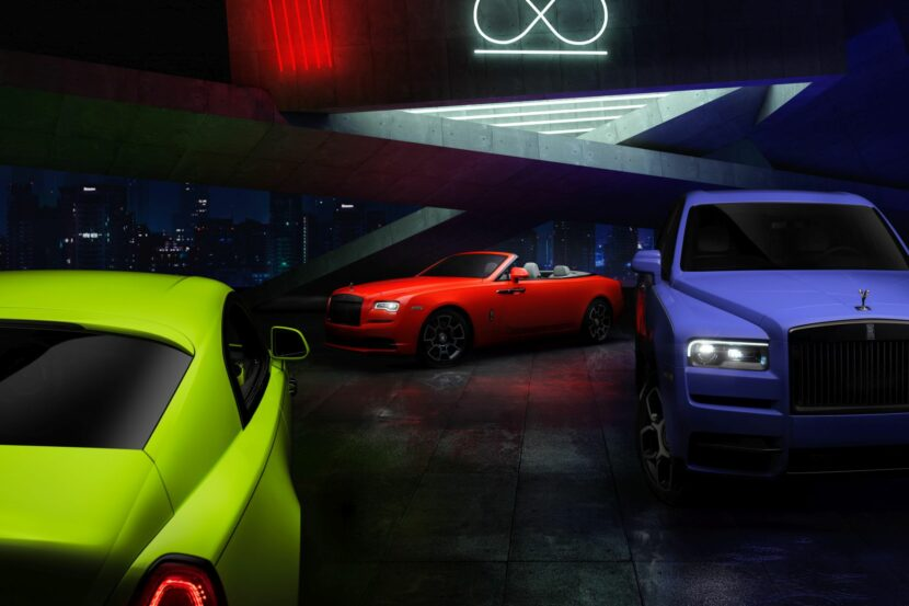 Rolls-Royce Black Badge Neon Nights goes against preconceptions
