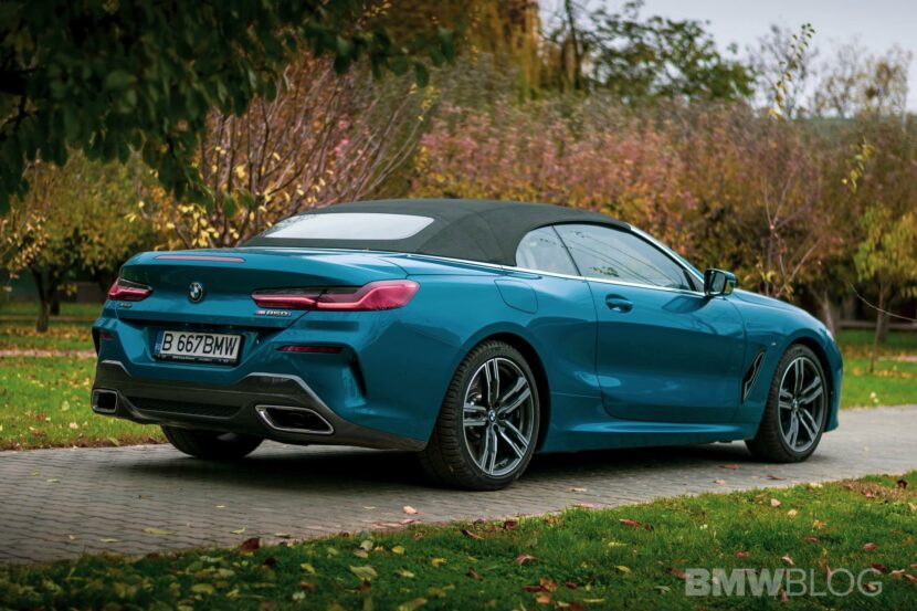 2020 BMW M850i Convertible atlantis blue05