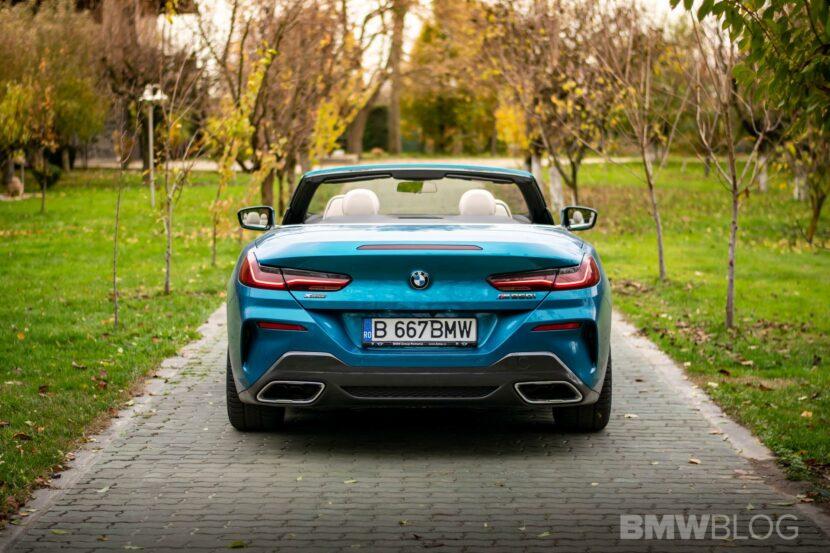 2020 BMW M850i Convertible atlantis blue12
