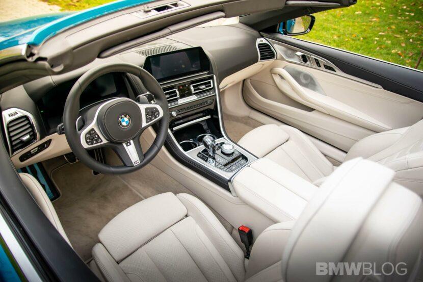 2020 BMW M850i Convertible atlantis blue27