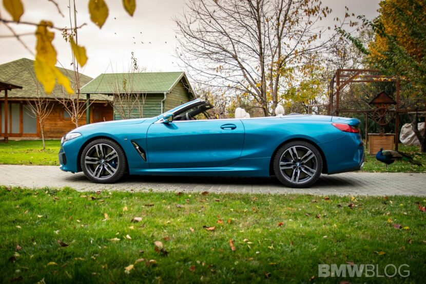 2020 BMW M850i Convertible atlantis blue34
