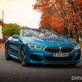 2020 BMW M850i Convertible atlantis blue44 120x120