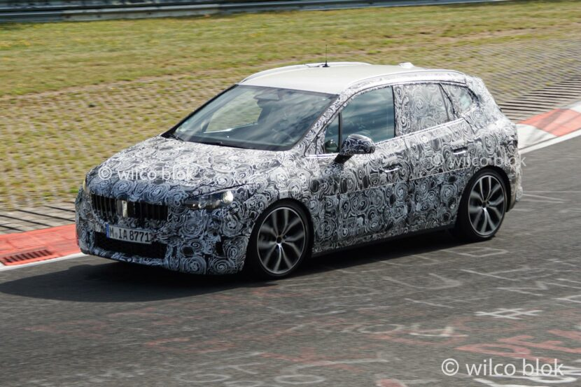 More Spy Photos of the BMW 2 Series Active Tourer Surface
