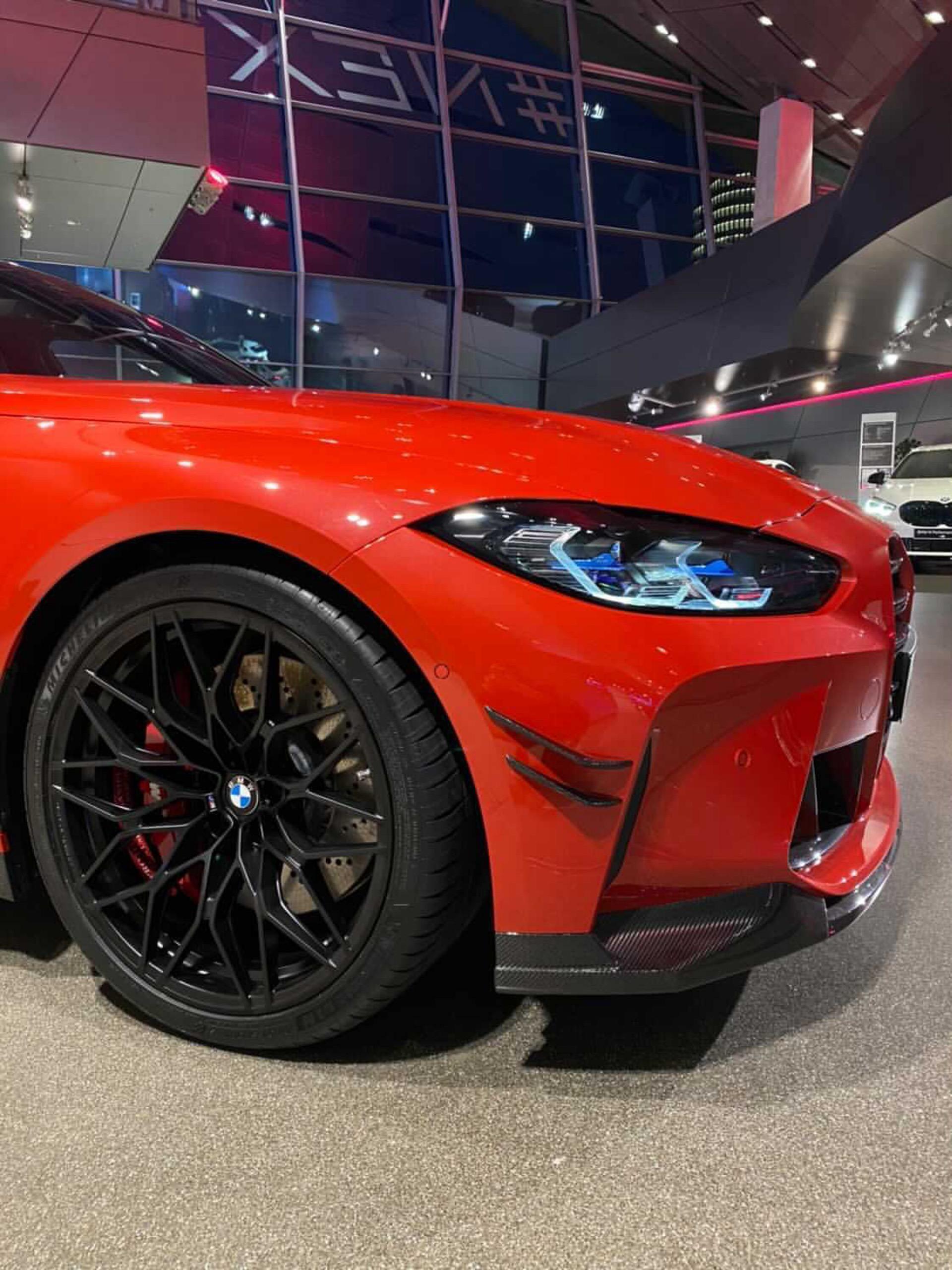 2021 bmw m3 m performance parts red color 00