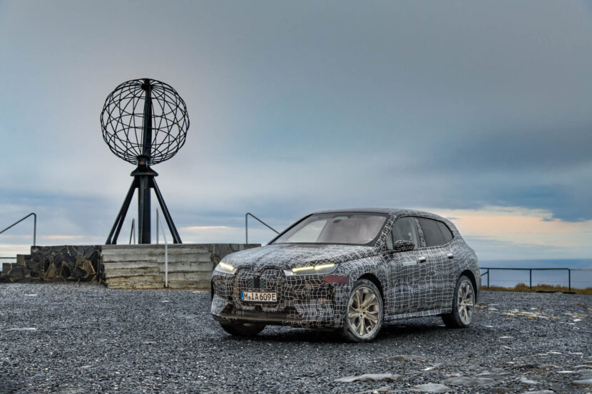 BMW iX Winter Testing North Cape 6 830x553