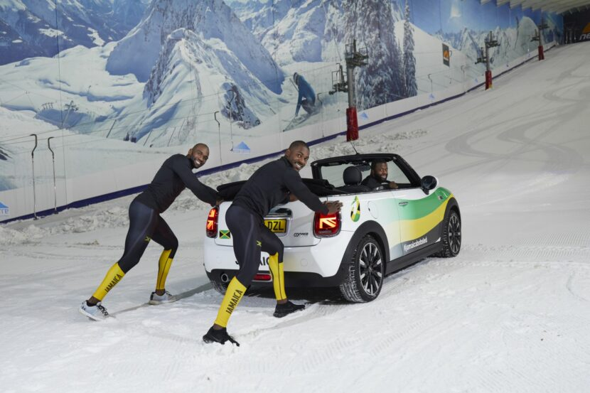 Jamaican Bobsleigh Team MINI 10 830x553