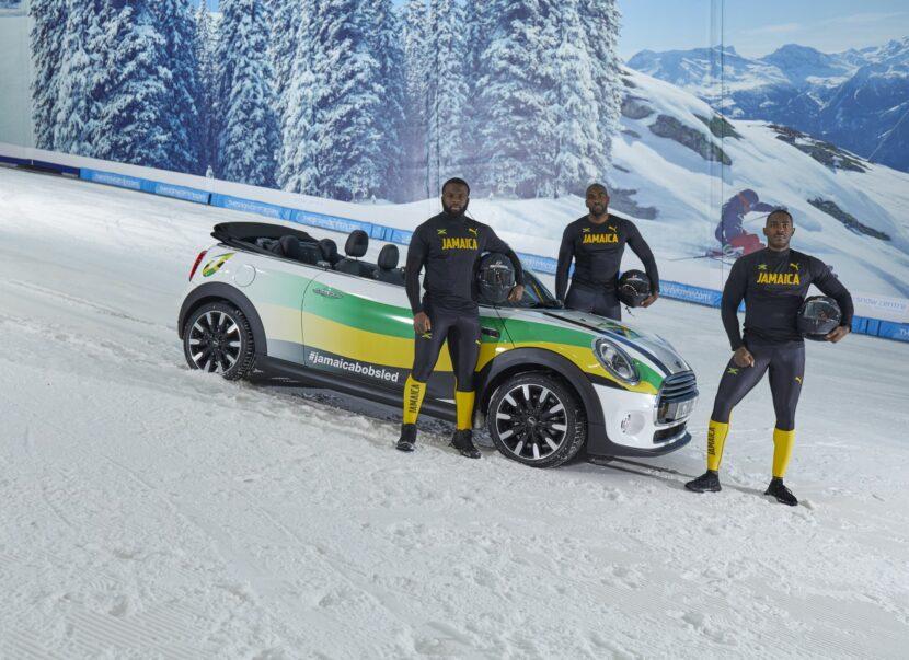 Jamaican Bobsleigh Team MINI 4 830x603