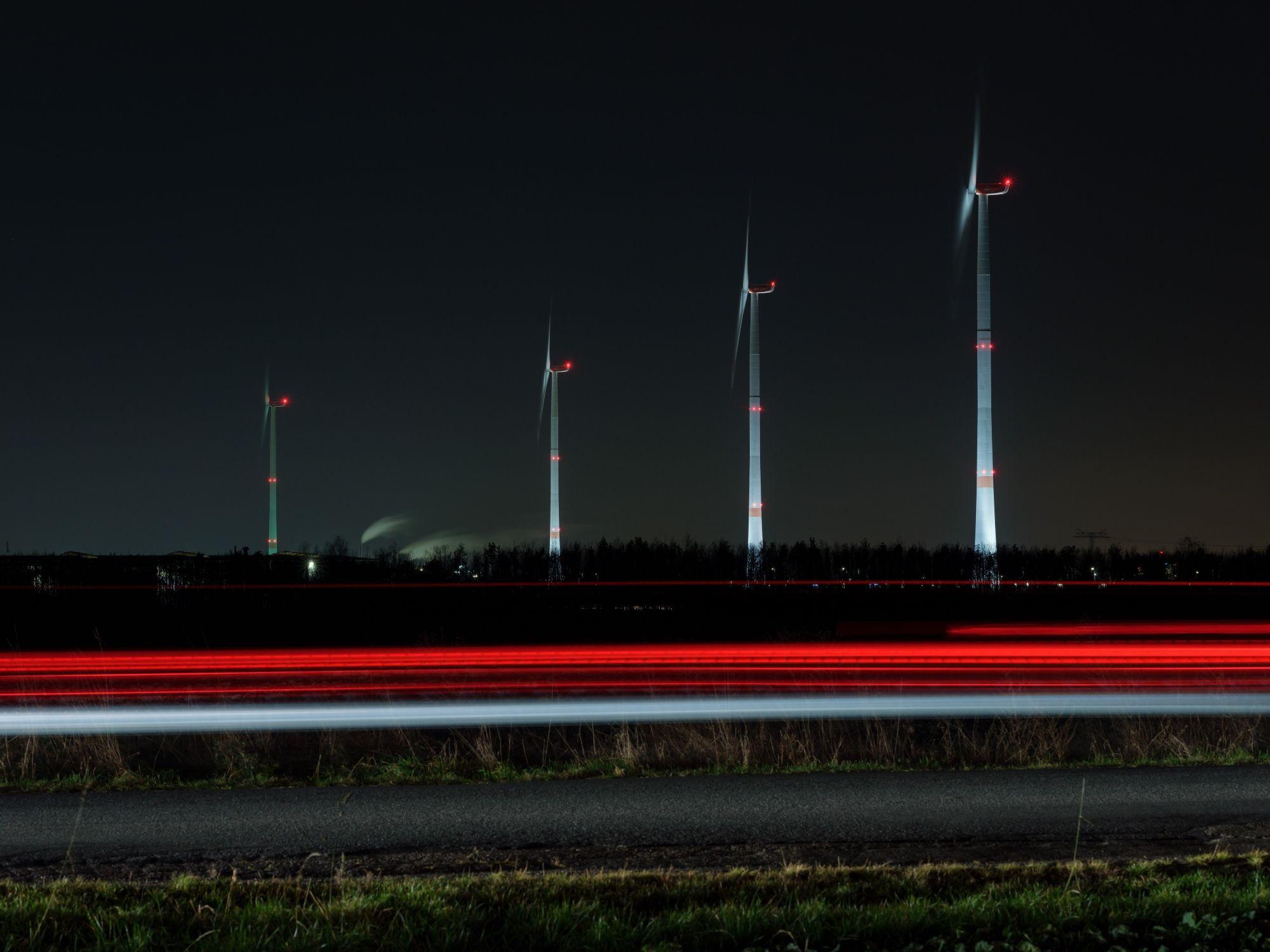 Leipzig Wind Turbines Advent 7