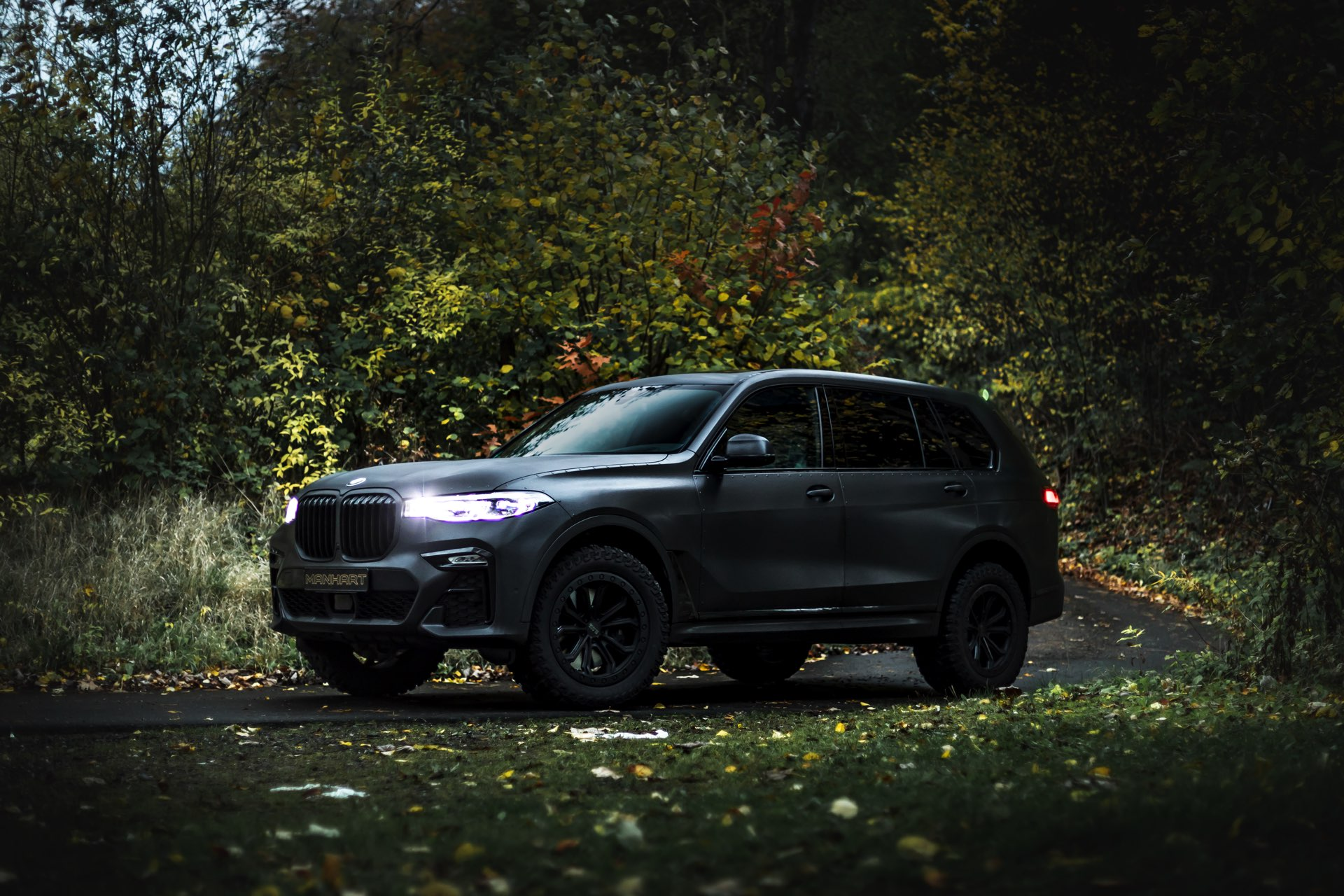 Manhart MHX7 Dirt BMW X7 2