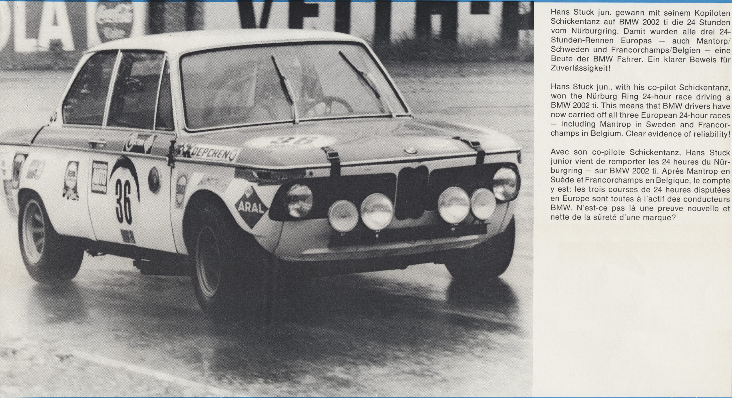 Looking Back At Bmw S 50 Year History In The Nurburgring 24 Hour Race