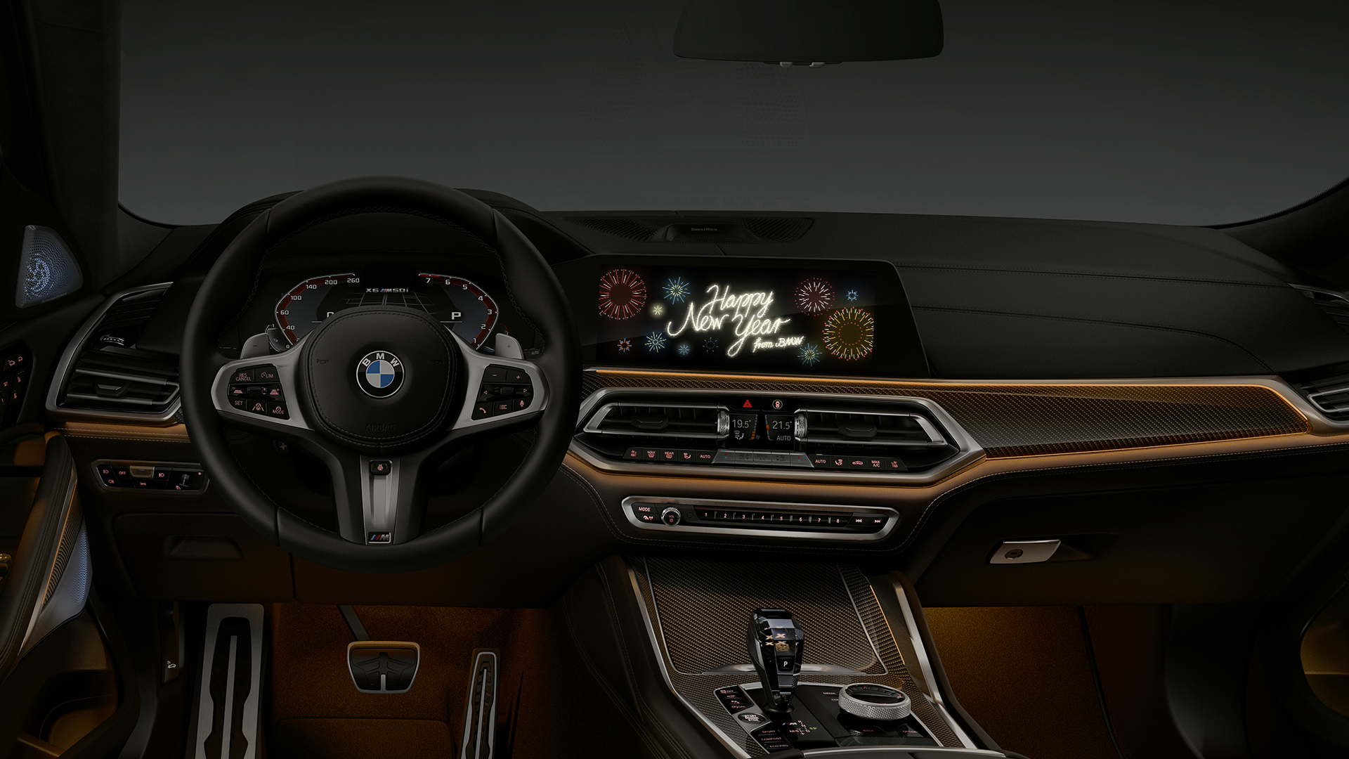 Video Bmw Sends Christmas And New Year Greetings To Your Car